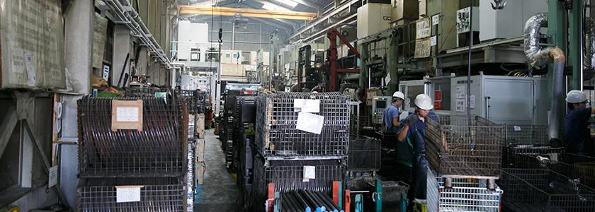 木本電子工業株式会社の熱処理事業部設備・加工事業部設備・検査設備